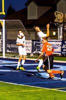 Travis Pape header disrupts O